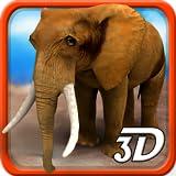 3D Wilder Elefant Simulator
