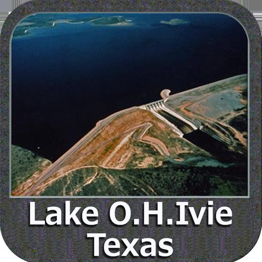 Lake OH Ivie - Texas GPS Map Navigator Lowrance-gps-software