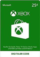 Xbox Live - 25 EUR Guthaben [Xbox Live Online Code] [PC Code - Kein DRM]