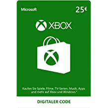 Xbox Live Guthaben | 25 EUR  | Xbox Live Download Code