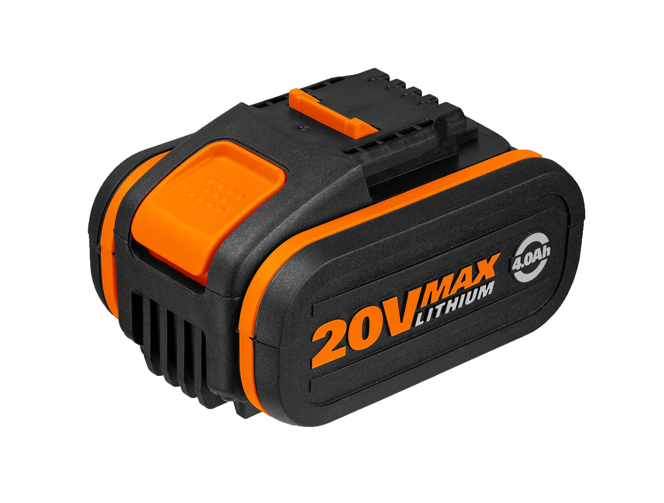 Worx WA3553 Akku 20V, 4,0Ah, für alle WORX Geräte – 4000mAh Li-Ion Akku PowerShare