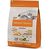 Nature's Variety Selected - Pienso para gatos esterilizados con pollo campero deshuesado 3 Kg
