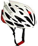 AWE® AWESpeed™ In-Mould Helm Erwachsene Männer Straßen-Radsport 58-61cm Weiß/rot