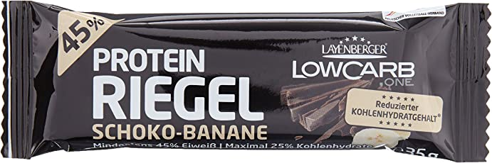 Layenberger LowCarb.one Protein Riegel  Schoko-Banane, bar 36 g