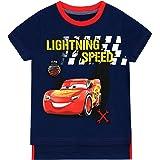 Disney Camiseta para niño Cars Lightning Mcqueen