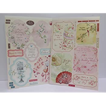 Beautiful Die Cut Family Sentiment Toppers 5 Choice of 4 Colours 59