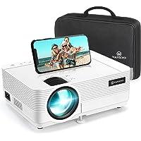 Videoprojecteur, VANKYO Supporte 1080P Full HD Projecteur Retroprojecteur Portable Multimédia Home Cinéma Compatible VGA…