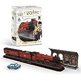 Revell 303 Hogwarts Express, tåg med spår 9 ¾ och flygande bil Harry Potter-tillbehör, färgade