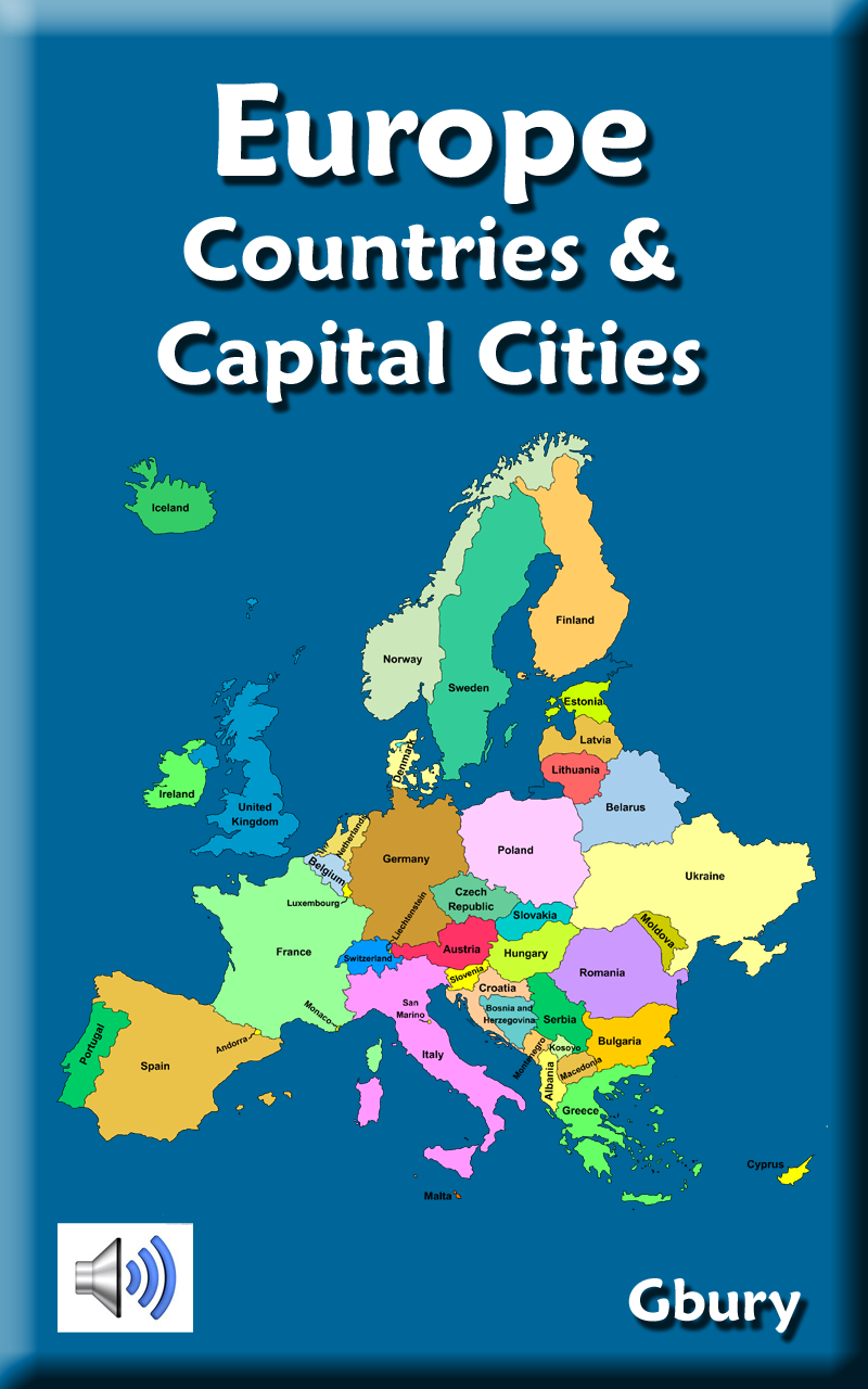 Europe Countries And Capital Cities Amazon Co Uk Appstore For Android