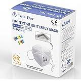 AUPROTEC 10 Stück FFP2 Maske Mini Größe S Atemschutzmaske EU CE 0370 Zertifiziert EN149:2001+A1:2009 Mundschutz 4 lagig mit i