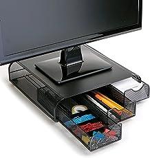Mind Reader, Laptop/Bildschirm-Ständer und Schreibtisch-Organizer