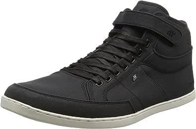 Boxfresh Herren Swich Sh Wxd CnvsPu Blk Sneaker: