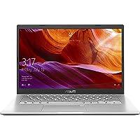 ASUS VivoBook 14 M409DA-EK146T AMD Quad Core Ryzen 5-3500U 14-inch FHD Compact and Light Laptop (8GB RAM/256GB NVMe SSD/Windows 10/Integrated Graphics/FP Reader/1.60 kg), Transparent Silver