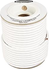 AmazonBasics 14-Gauge Speaker Wire - 99.9% Oxygen Free Copper - 100 Feet