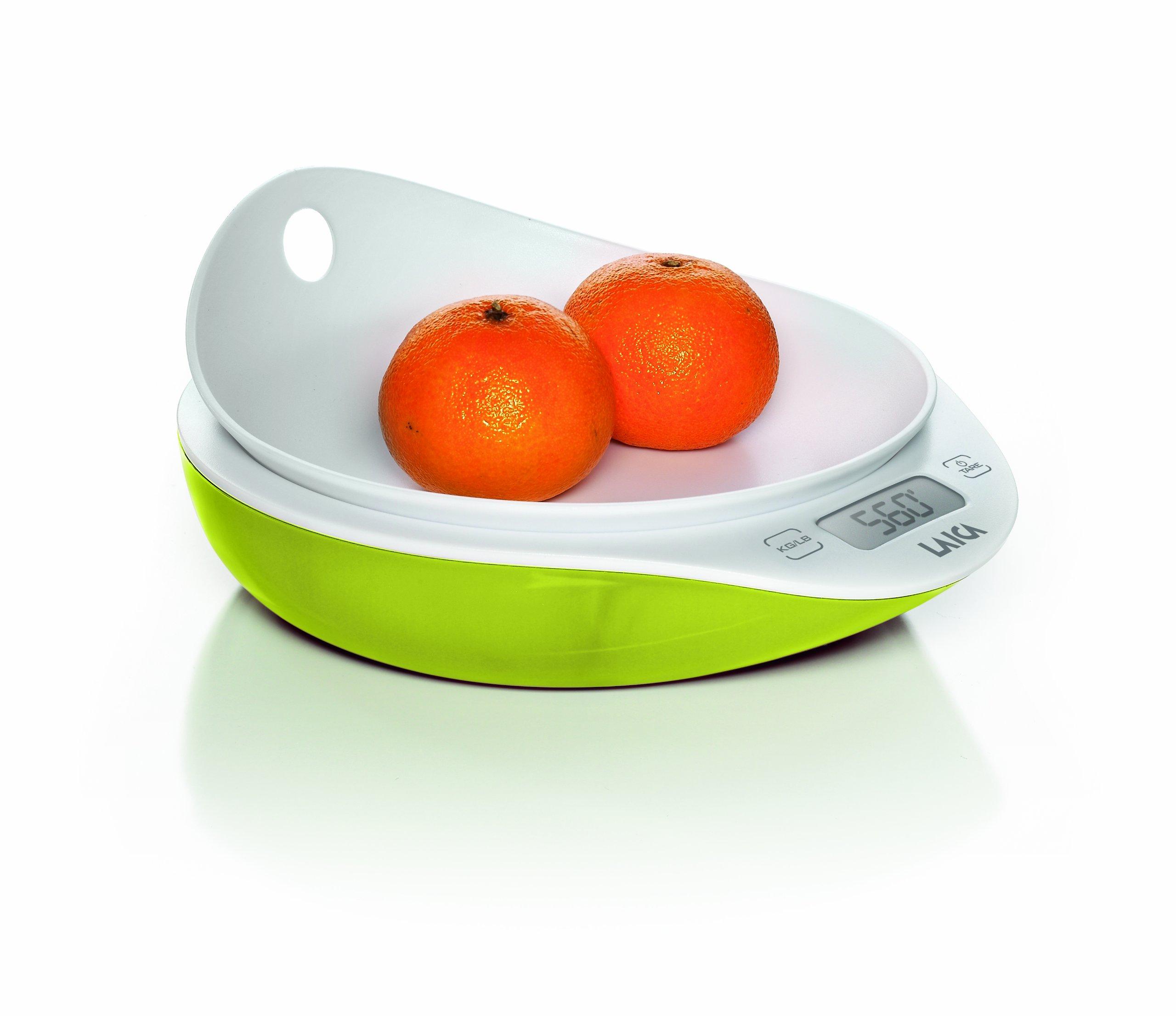 Laica Bilancia Da Cucina Kg 5 KS1025 Verde