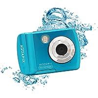 Easypix EASYPIX W2024-I Splash Iceblue Caméra Submersible 14 MP Double Pente, Bleu