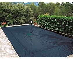 WerkaPro 07426 - Bâche de protection 5x9 m - Pour piscine rectangulaire - 240g/m2 - Marine
