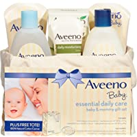 Aveeno Baby Daily Care Essentials Basket Baby and Mommy Gift Set