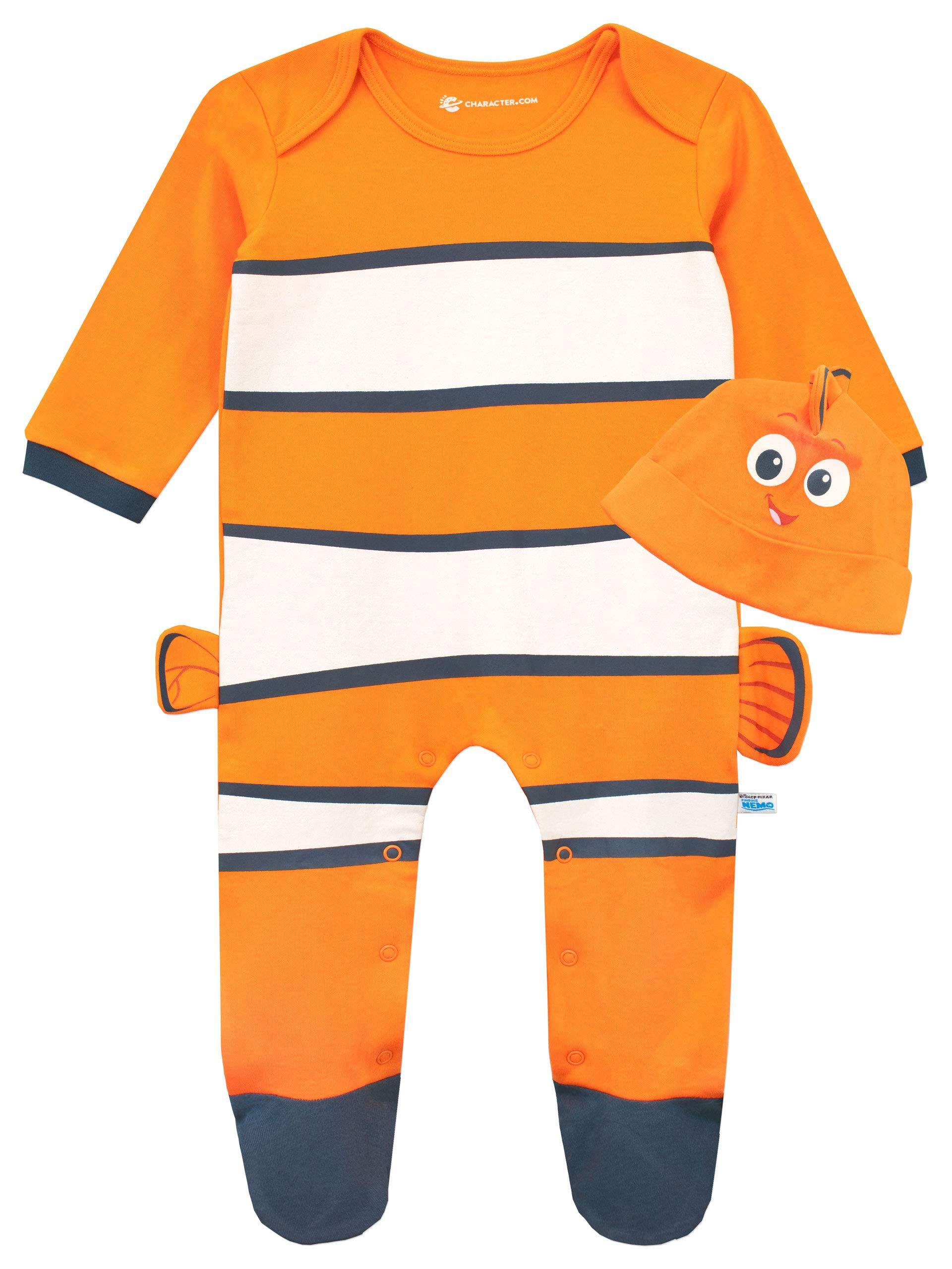 Disney Pijama Entera con Gorro para Niños Bebés Buscando a Nemo 1