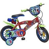 Toimsa Pjmasks 1203 - Bicicletta per Bambini, con Licenza Le pigiamini, da 3 a 5 Anni, 12 Pollici