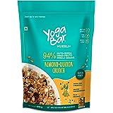Yogabar Wholegrain Breakfast Muesli - Almond + Quinoa Crunch, 400g