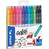 Pilot Frixion Colors, Uitwisbare Viltstiften, Set Van 12