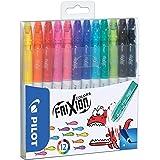 Pilot Frixion - Pack de 12 rotuladores, Multicolor