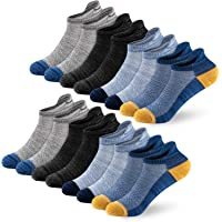 Newdora Calzini Uomo e Donna, 8 Paia Calze Corti per Sport e Casual, Calzini Sneakers alla Caviglia in Morbido Cotone…