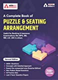 A Complete Book for Puzzles & Seating Arrangement for BANK PO   IBPS PO   SBI   RBI and other Bank Exams 2020 (English…