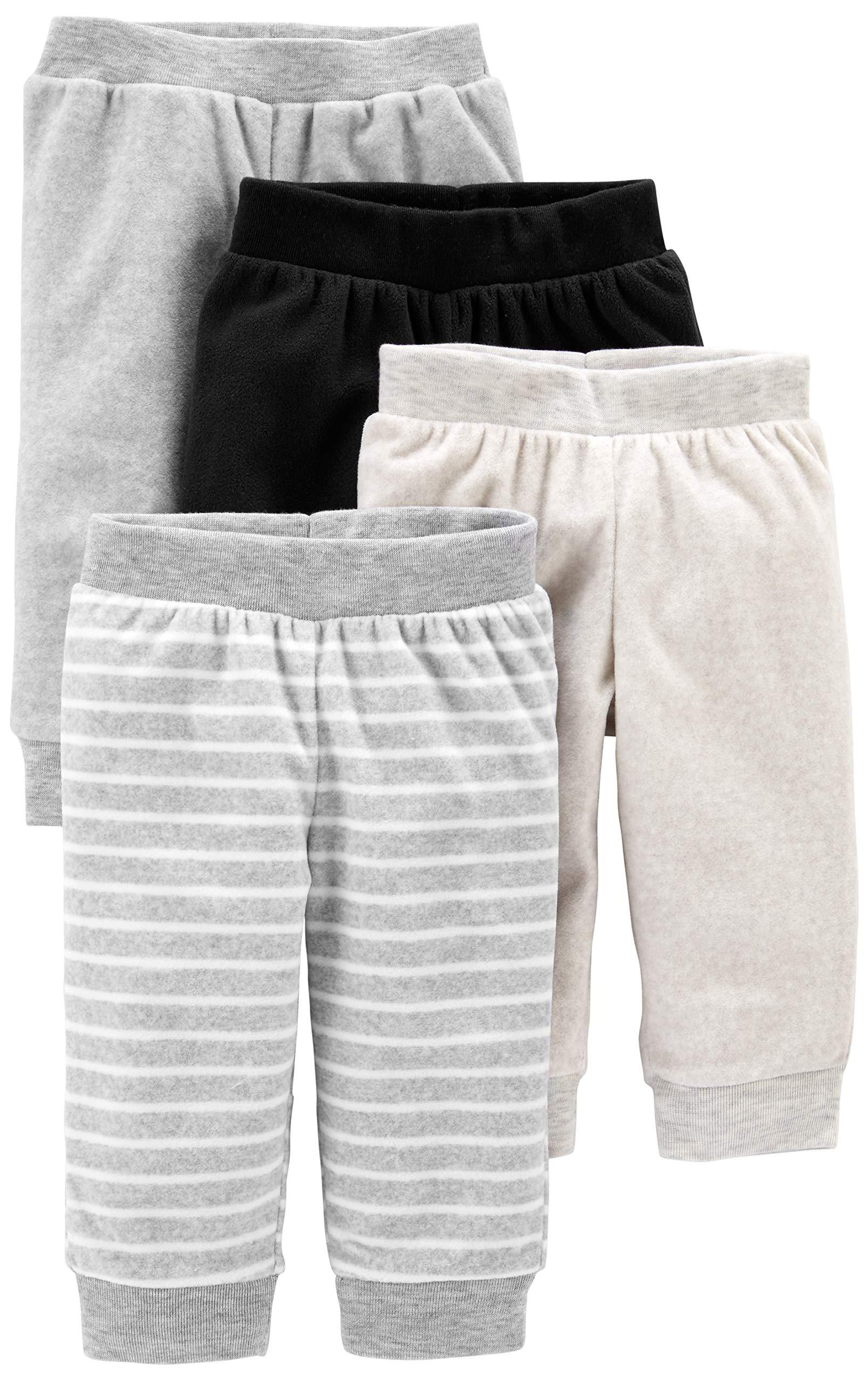 Simple Joys by Carter's Baby - Pantalones de forro polar (4 unidades) 1