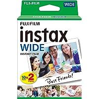 Fujifilm Instax Wide Film Pellicole Instantanee per Fotocamere Instax Wide, 10x2 Foto