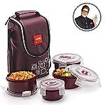 Cello Max Fresh Click Polypropylene Lunch Box Set, Set of 2