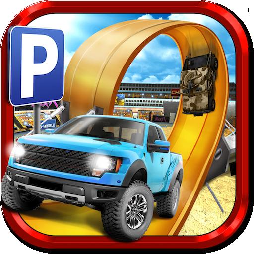 3D Monster Truck Parking Simulator Game (Kostenlose Monster Bus)