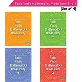 Vedic Mathematics Book Set (Set of 4)