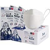 Mascherine Filtranti FFP2 3D KF94 Certificate CE Sigillate singolarmente (50 mascherine)