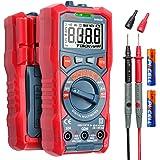 AstroAI Digitale multimeter, voltmeter ohmmeter Auto Range 4000 counts TRMS stroommeter met NCV en LCD-scherm en achtergrondl