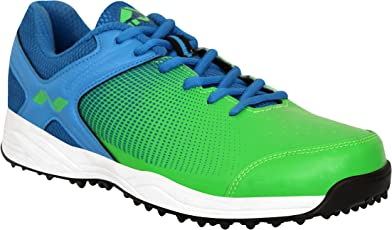 Nivia Men's PVC, Synthetic Leather Field Cricket Shoes