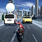 City Traffic Moto Rider