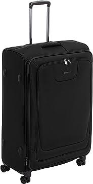 AmazonBasics - Premium-Weichschalen-Trolley mit TSA-Schloss, erweiterbar, 74 cm, Schwarz