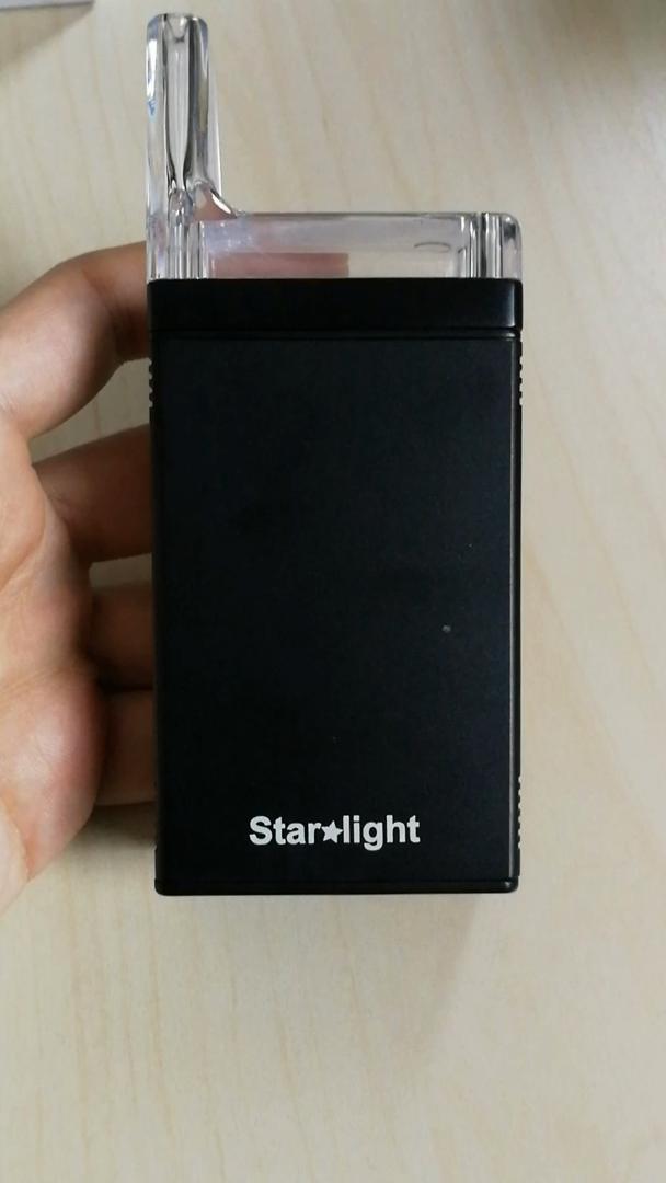 Vaporizador de hierbas, Atman Starlight vaporizador de hierbas para la cera/hash TC Box Mod sistema de control de temperatura de 4, No nicotina: Amazon.es: ...