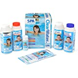 Clearwater CH0018 Lay-Z-Spa Chemical Starter Kit for Hot Tub and Spa Water Treatment (Includes Chlorine, pH Minus, pH…