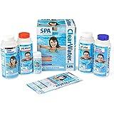 Clearwater CH0018 Lay-Z-Spa kemisk startsats för badtunna och spa-vattenbehandling (inkluderar klor, pH minus, pH Plus, skumb