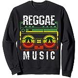 Reggae Rastafari Rasta Musique Cadeau Sweatshirt