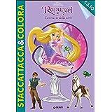 L'intreccio della torre. Rapunzel. Staccattacca e colora. Con adesivi. Ediz. illustrata