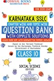Oswaal Karnataka SSLC Question Bank Class 10 Social Science Book Chapterwise & Topicwise (For March 2020 Exam)