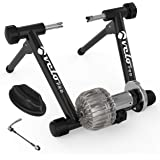 Velo Pro Fluid Turbo Trainer – Quiet Magnetic Indoor Cycle Trainer Stand with Smooth Real Road Feel for Mountain & Road Bike