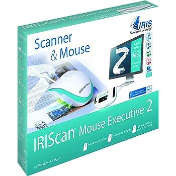 IRIScan Mouse 2 Executive USB Cable Alimente Scan Vers JPG PDF WORD EXCEL Cartes De Visites Outlook OCR 130 Langues Windows Mac