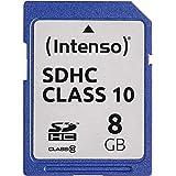 Intenso SDHC 8GB Class 10 Speicherkarte blau