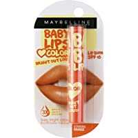 Maybelline New York Babylips Bright Out Loud, Striking Orange, 1.9g