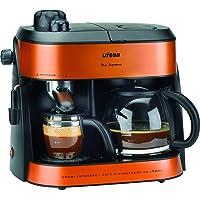 Bosch Electroménager Ufesa CK7355 Machine à café Double emploi Orange 1 800 W, 1800 W, 1.5 liters